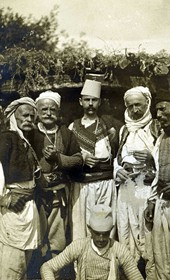 "Jäckh306: ""Albanians of the Shkreli tribe"" (Photo: Dr E. Schulz, Hamburg, ca. 1910. Courtesy of Rare Books and Manuscript Library, Columbia University, New York, 130114-0115)."