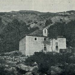 "EL1909.028: ""The parish church of Suma"" (Photo: Erich Liebert, 1909)."