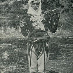 "EL1909.067: ""Lul Pali of Kir in festive attire"" (Photo: Erich Liebert, 1909)."