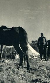 GM012: Nomads near Shkodra (Photo: Giuseppe Massani, 1940).