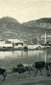 GM029: Lezha on the Drin River (Photo: Giuseppe Massani, 1940).