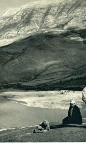 GM107: View of the Vjosa River (Photo: Giuseppe Massani, 1940).