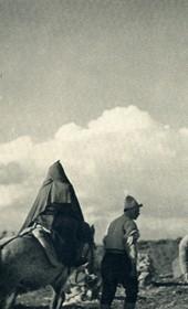 GM120: A wedding procession near Tepelena (Photo: Giuseppe Massani, 1940).