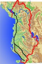 Route Montenegro Nordwestgriecheland