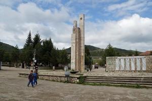 Dorfplatz von Voskopoja