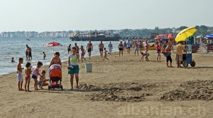 Treiben am Strand