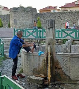 Alter Brunnen im Stadtzentrum