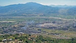 Stahlwerk »Stahl der Partei« westlich von Elbasan