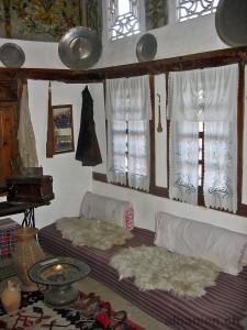 Raum im Ethnographischen Museum