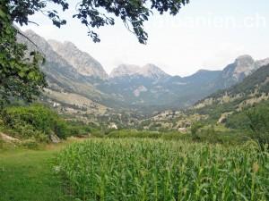 Boga (Albanien) in den Nordalbanischen Alpen