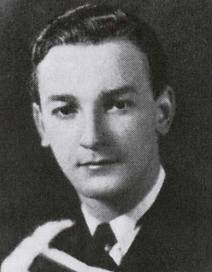 Early photograph of Reuben Ship, writer of THE INVESTIGATOR, a 1954 radio play.