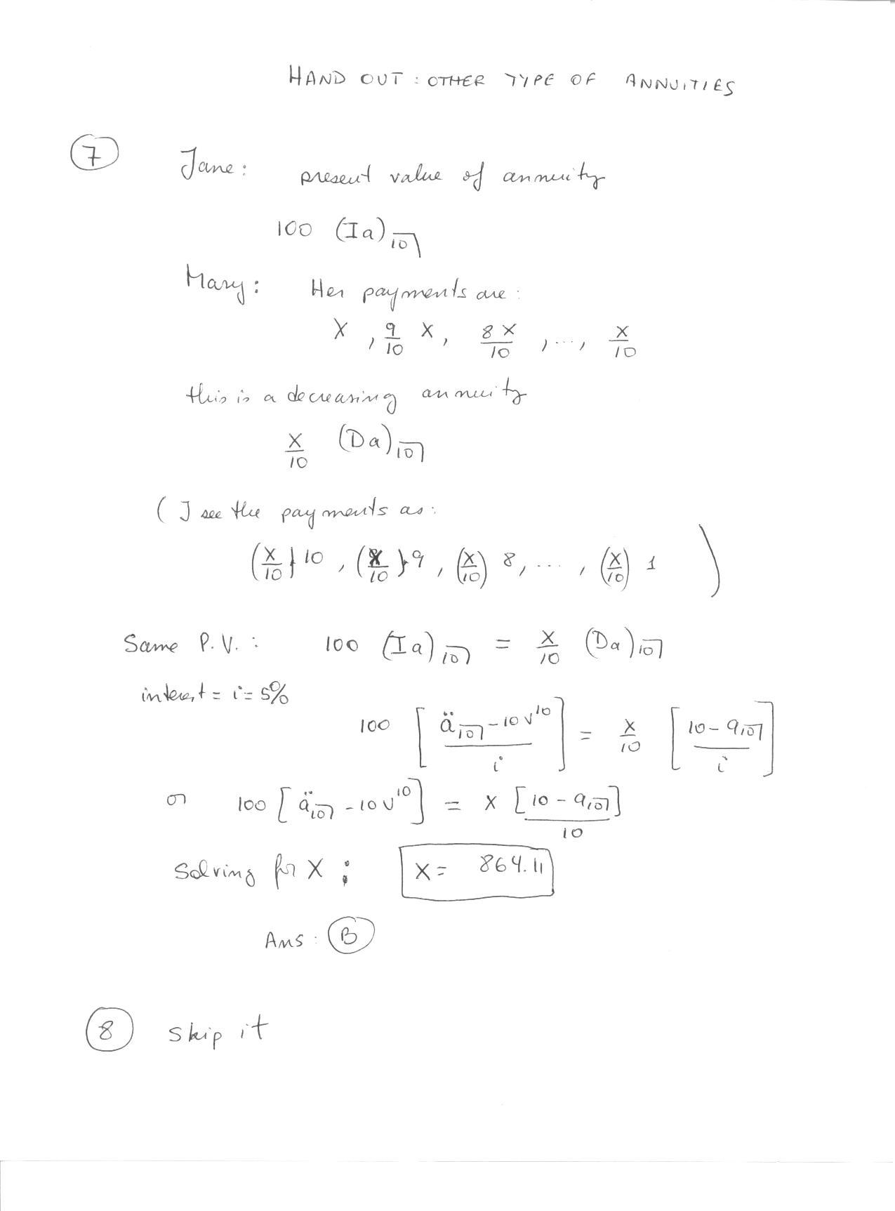 Math 301 Theory Of Interest