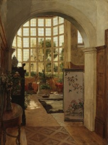 Walter Launt Palmer  Painting the Moment   Albany Institute of     Walter Launt Palmer  Painting the Moment  Stanway Interior