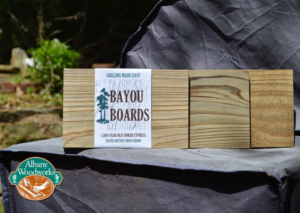 *New* Bayou Boards™- 1,000 Year Old Cypress Grilling Boards