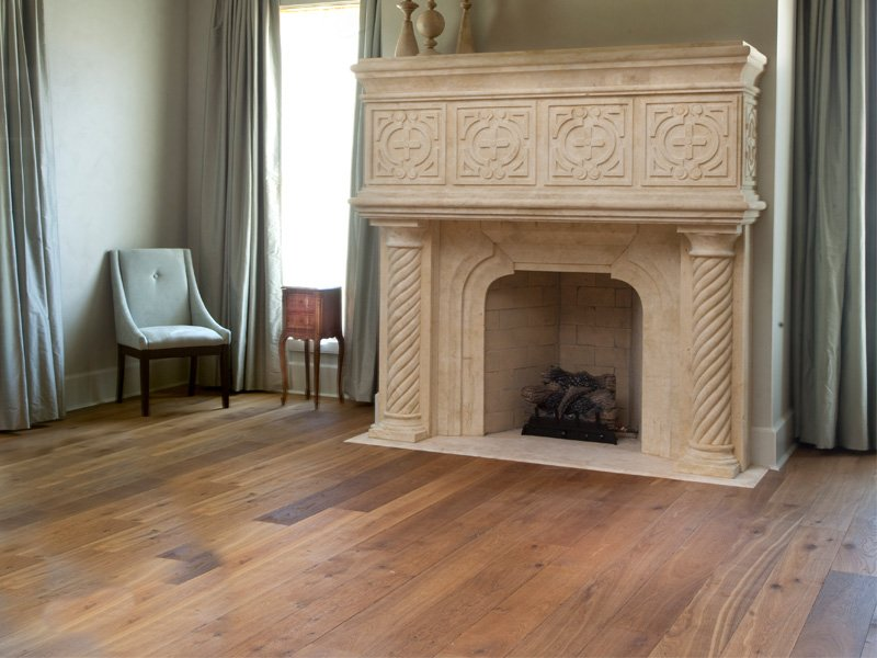 Reclaimed Oak Flooring Living Room