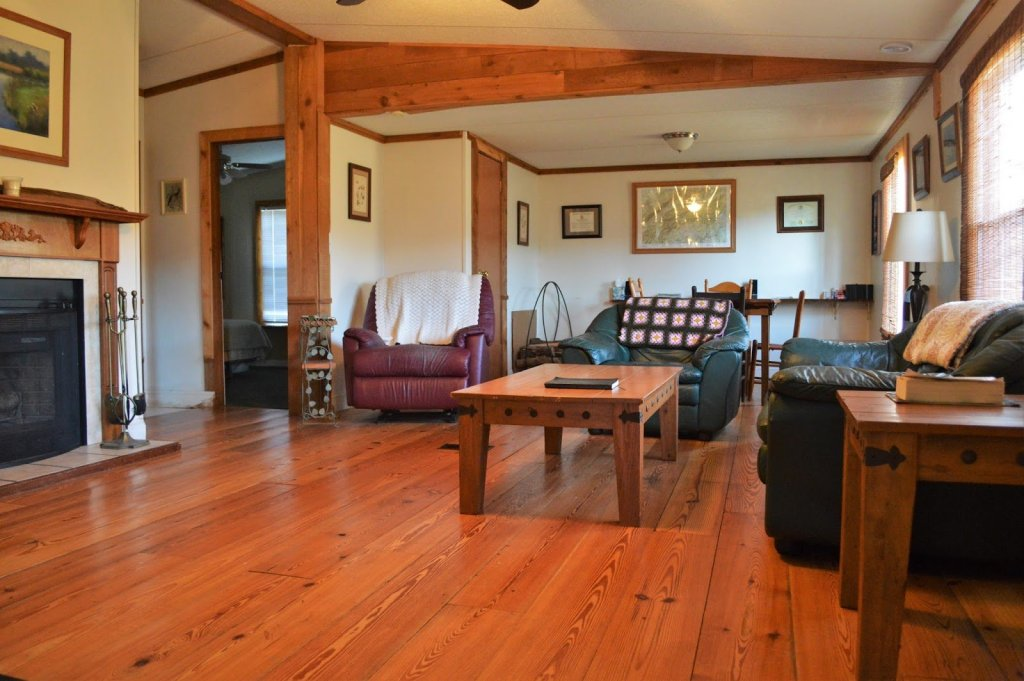 Tennessee Cabin DIY Flooring Transformation