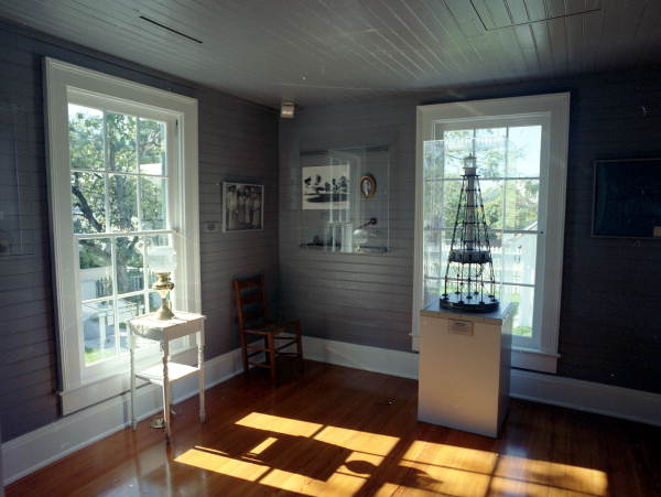 Dade County Pine Flooring in Key West Lighthouse
