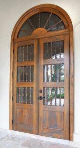 Custom Cypress Door