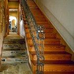 metal-handrail-wood-stairs