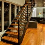 modern-staircase-antique-heart-pine-stairtreads