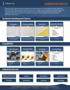 Meta-aramid, Nomex, strong thermal, chemical and abrasion/cut resistant properties for high heat applications
