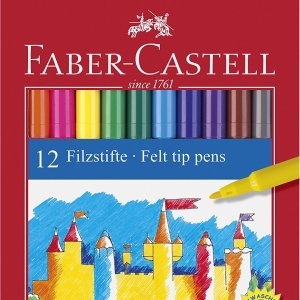Faber Castel Pennarelli Scatola 12 pezzi