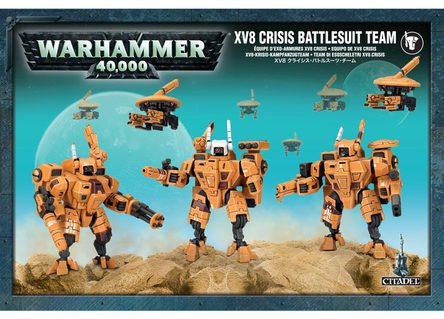 Team di Esoscheletri XV8 Crisis - WH40k