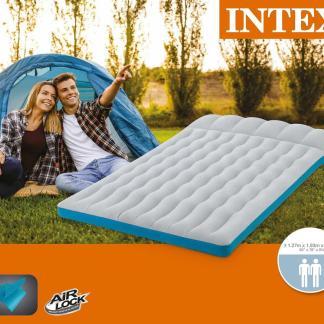 Materasso Matrimoniale camping laminato cm 193x127x24 - Intex 67999