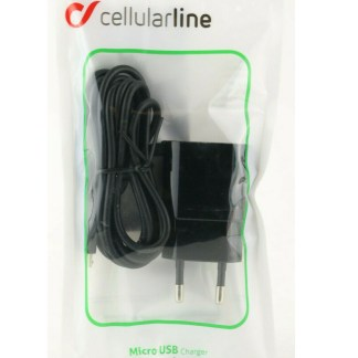 Caricatore da rete 1A Micro Usb Travel charger Cellularline