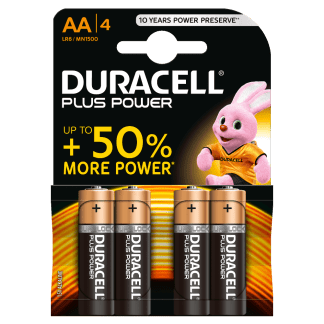 Batterie Stilo AA Alcaline LR6 Duracell Plus Power