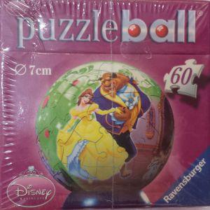 Puzzle Ball 3D Globo Disney la Bella e la Bestia