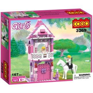 Costruzioni Cogo Principessa nella Torre Girls 3269