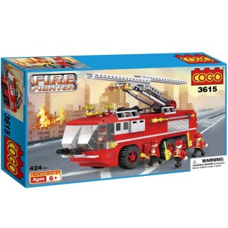 Costruzioni Cogo Camion dei Pompieri 3615 Fire Fighter
