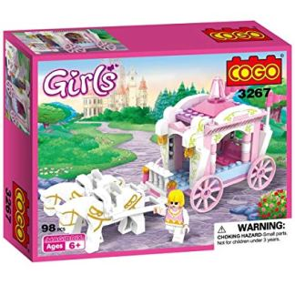 Costruzioni Cogo Carrozza con Cavalli Girls 3267