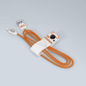 Cavo Lightning certificato MFI Apple 120cm Dati e Ricarica Star Wars BB-8