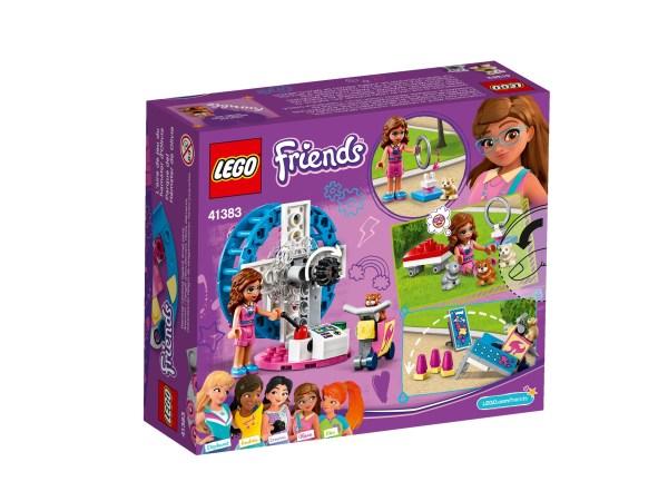Lego Friends area gioco del criceto di Olivia (L') 41383
