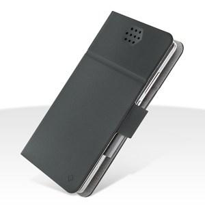 Custodia EcoPelle Universale taglia XXL fino 5.5' Serie Fold Dark Grey