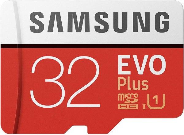 Samsung Scheda MicroSD da 32 GB Adattatore SD Incluso MB-MC32GA/EU EVO Plus
