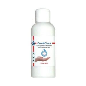 Gel Igienizzante Mani 100 Ml alcool Etilico 75% Care&Clean
