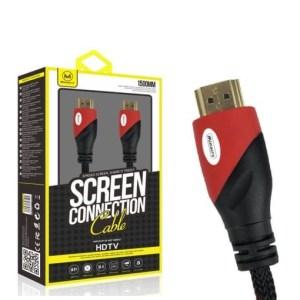 Cavo HDMI 150cm connettori oro 3D Full HD