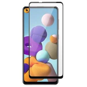 Vetro Temperato Screen Shield per Samsung Galaxy A21 e A21s NERO