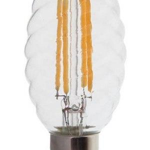 Lampadina LED E14 400lm Candela Twist 4W (35w)