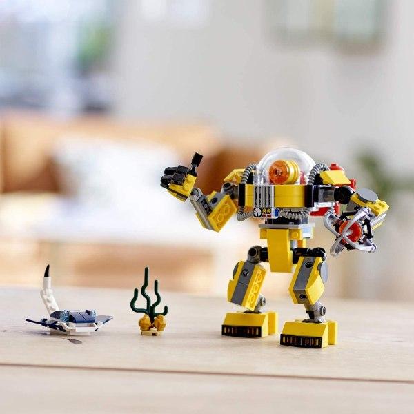 Lego Creator Robot Sottomarino 31090