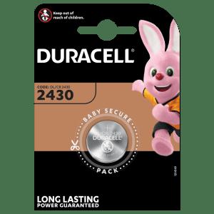 Batterie 2430 Duracell Litio 3V blister 1pz