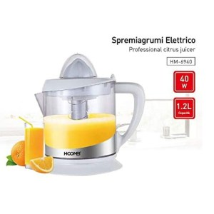 Spremiagrumi Elettrico 40w 1,2 litri Hoomei Elettrodomestici