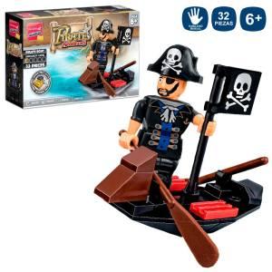 Costruzioni Pirate Boat 32 pezzi
