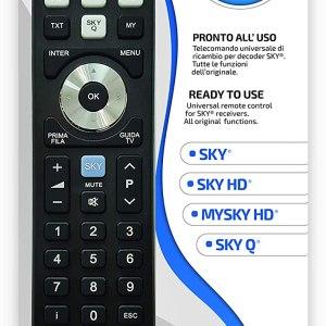 Telecomando Universale SKY - My SKY - My SKY HD - SKY Q
