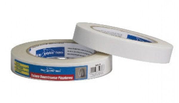 Nastro Biadesivo Foam Bianco Spessore 1 mm 19mm x 1,5m