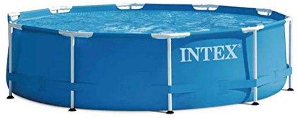 Piscina fuori terra rotonda con pompa filtro INTEX 305 x 76 cm