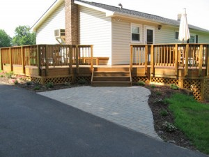 Protecting Wood Deck